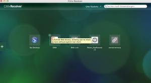 citrix Receiver für MAC